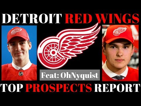 TOP NHL PROSPECTS 2018 - DETROIT RED WINGS (FT: OhNyquist)