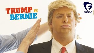 Donald Trump's Hair Secrets - REVEALED • Trump vs Bernie