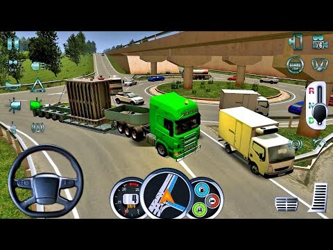 Euro Truck Driver 2018 #15 TRAFFIC FAIL! 😂😆 - New Truck Game Android gameplay #truckgames