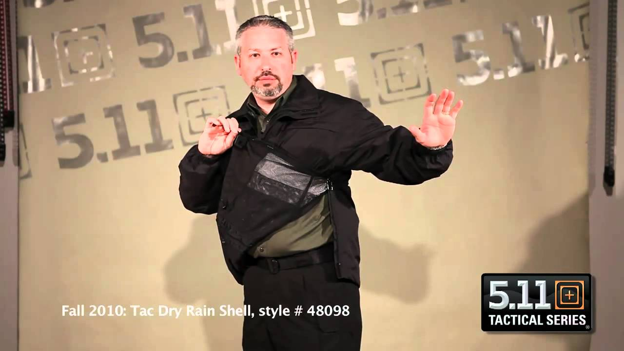Tacdry Rain Shell From 5 11 Tactical Youtube
