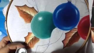 Pintura en tela esferas 3 con cony