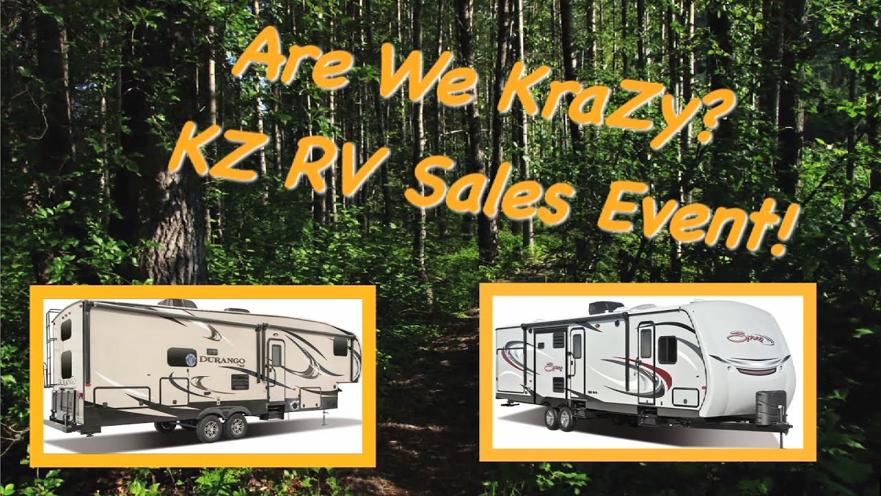 Rv Dealers In Grand Rapids Mi >> Are We Crazy Kz Rv Sales Event At Veurinks Rv Center Grand Rapids Mi