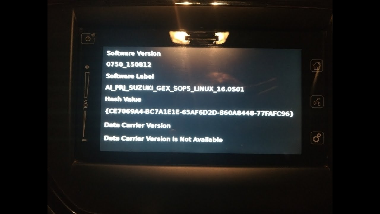 Vitara Brezza : Complete Guide on How to update Navigation System Software