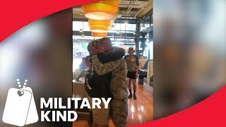 Airman's Aunt Pulls off Epic 21st Birthday Reunion | Militarykind