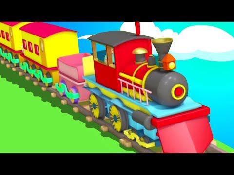 Gadi Aayi Gadi Aayi Chuk Chuk Rhyme | गाड़ी आयी जुक जुक | Kids Channel India | Hindi Nursery Rhymes