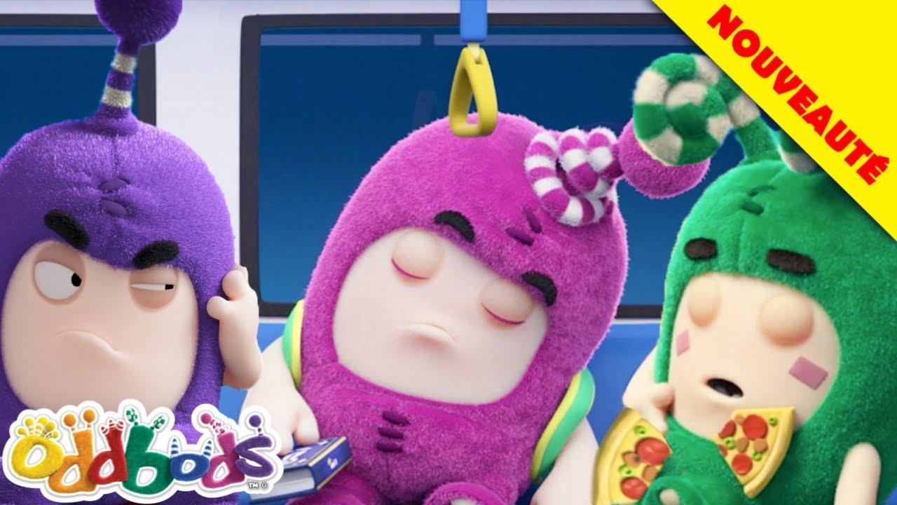 Oddbods | Voyage Désagréable À La Maison | Nouveau | Dessins Animés Amusants Pour Les Enfants