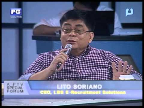 Part 1: The Strong Peso - PTV Special Forum [Nov. 16, 2012]