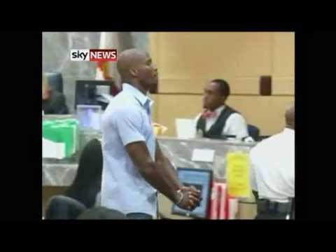 Chad Johnson Slaps Lawyer On Butt, Gets Sent To Jail