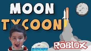 Alex5gamer - Roblox Moon Tycoon gameplay English. Children's channel