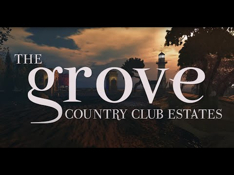 Second Life THE GROVE COUNTRY CLUB ESTATE in 4K Viewing