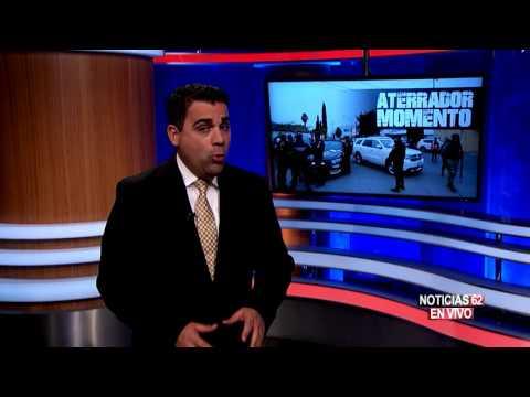 Violentas imágenes de la balacera en Monterrey - Noticias 62