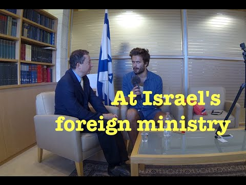 Israels's Foreign Ministry - Jung & Naiv in Israel: Episode 205