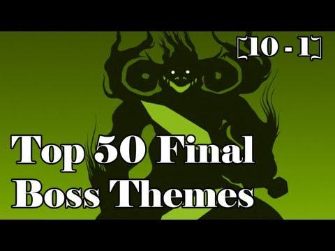 Top 50 Final Boss Themes Part 5 [10 - 1]