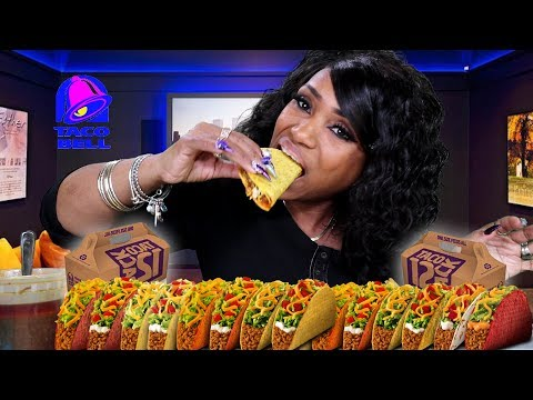 Taco Bell, 12 Crunchy Tacos with My Smackalicious Sea Sauce