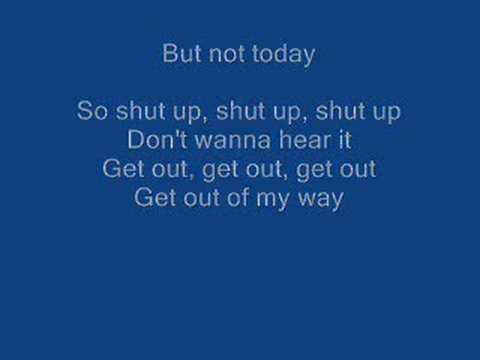 Simple plan  Shut up Instrumental karaoke whit Lyricks !!!!