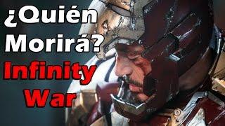 ¿Qué personajes morirán en Infinity War? streaming