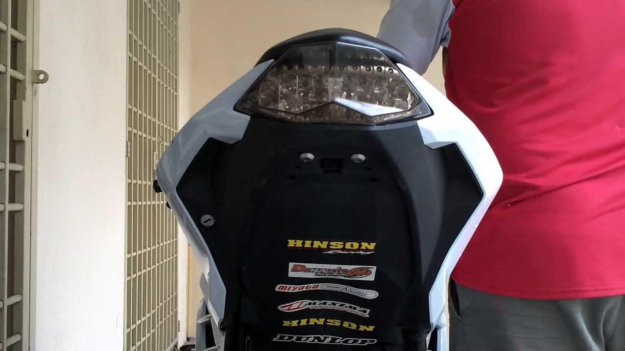 Kawasaki Ninja 250r Integrated Taillight YouTube – Kawasaki Ninja 250 Wiring Diagram 2013