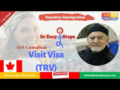 Get Canadian Temporary Resident Visa In Easy 6 Steps