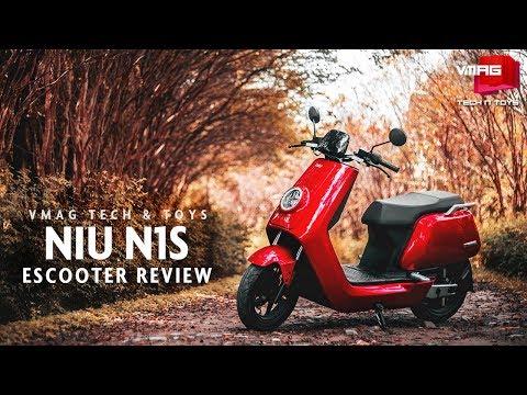 NIU N1S eScooter Review | Nepal Telecom Tech & Toys | VMAG