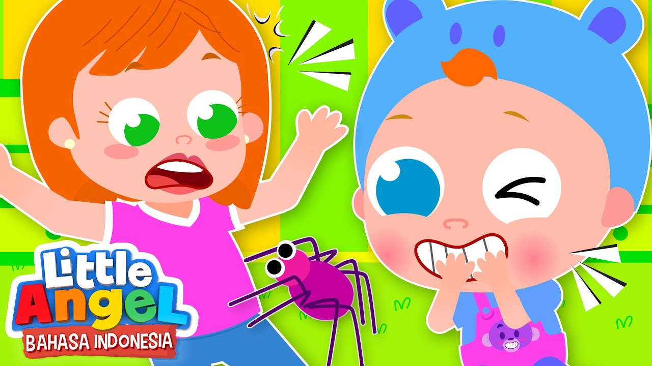 Wah Baby John Mengagetkan Ibu! | Kartun Anak | Little Angel Bahasa Indonesia