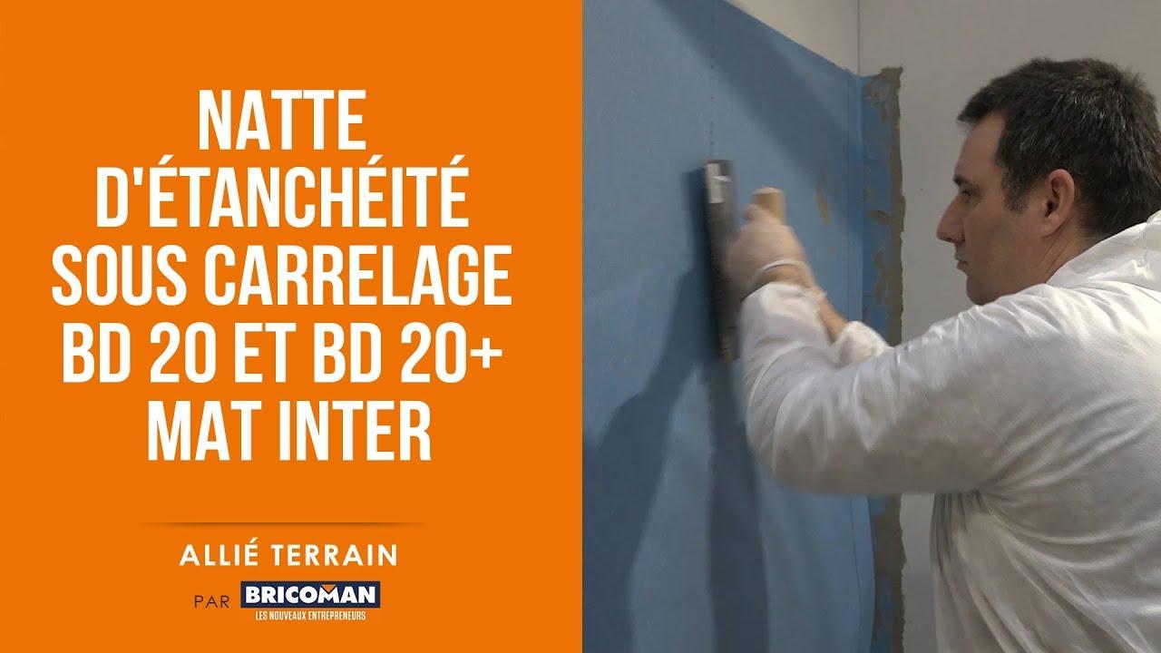 Allie Terrain Natte D Etancheite Sous Carrelage Nesc Bd 20 Et Bd 20 Mat Inter Youtube