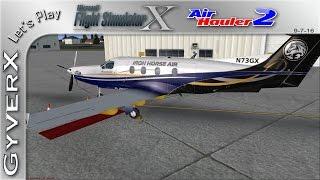 Flight Simulator X with Air Hauler 2 & Pilatus PC12