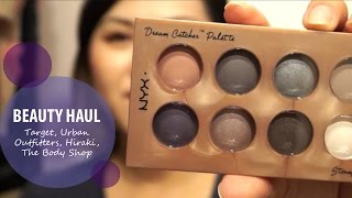 New Beauty Haul (Target, Urban Outfitters, Hikari, Body Shop) | Beauty Blossom Thumbnail