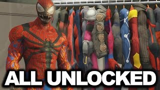 The Amazing Spider-Man 2 - ALL Suits + DLC UNLOCKED [2018]