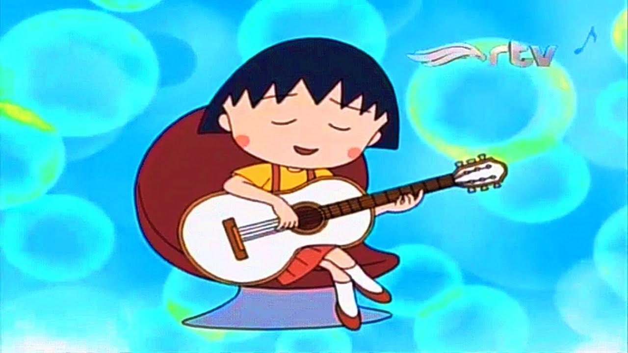 Chibi Maruko Chan - HADIAH GITAR PUTIH [Bahasa Indonesia] Maruko RTV Terbaru 2020 #ChocolateCartoon