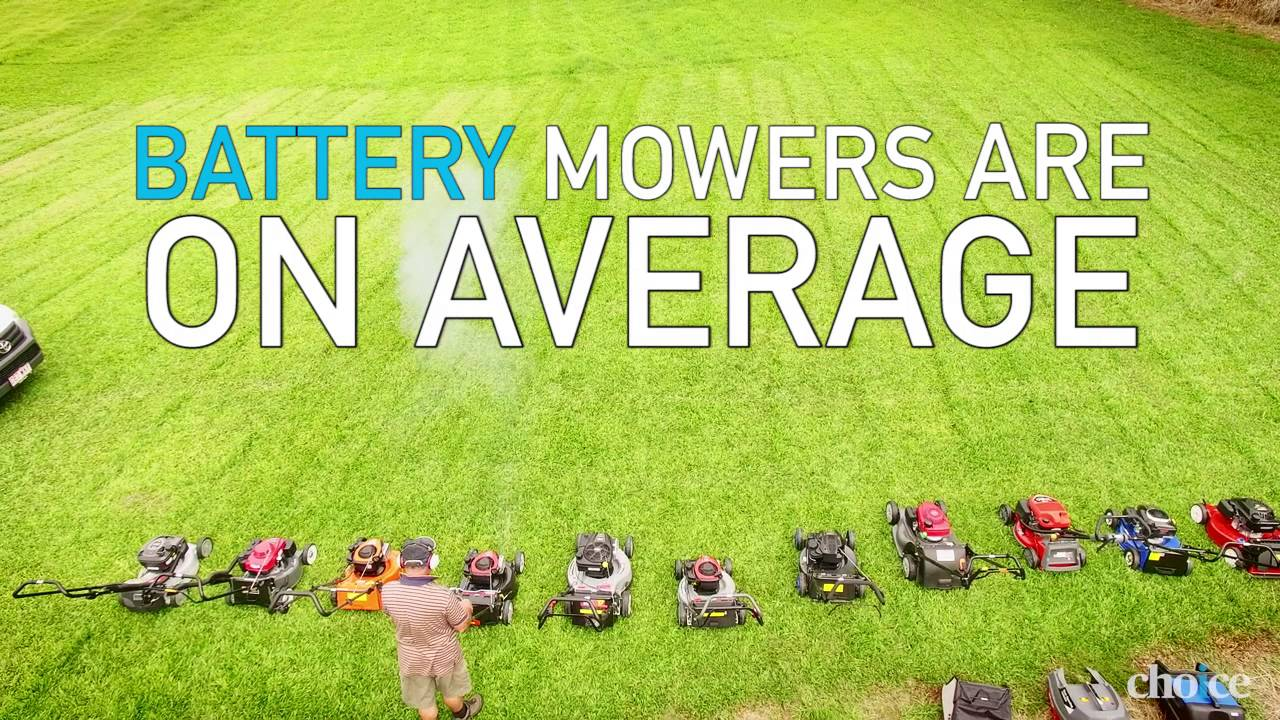 How to buy the best lawn mower - CHOICE