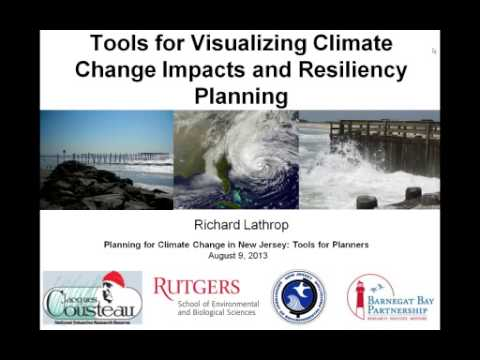 Planning For Climate Change In New Jersey: Tools For Planners