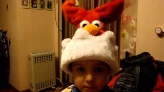 Шапка Санта Клауса (Деда Мороза)