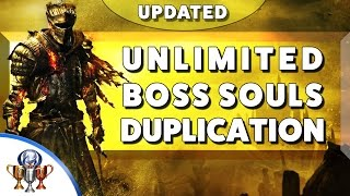 Dark Souls 3  (UPDATED)  Unlimited Souls Exploit - Boss Souls Duplication Glitch (Infinite Souls!)