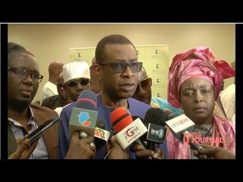 Youssou Ndour remet un chéque 75 millions aux acteurs culturels