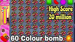 Candy crush colour bomb 💥 💥💥 || Candy crush last level || Candy crush saga || Candy crush