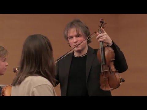 Henning Kraggerud - Mozart Violin Concertos Masterclass - Part I