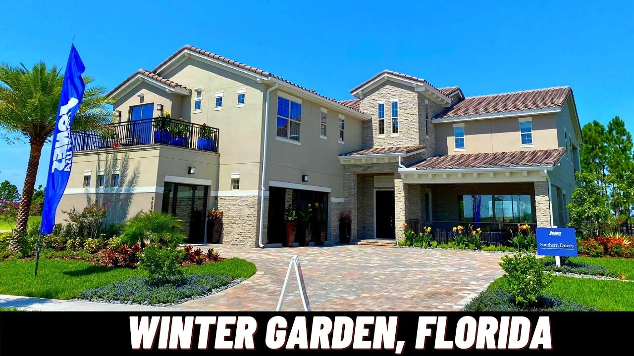 NEW HOMES IN WINTER GARDEN, FLORIDA | SOUTHERN DUNES MODEL | Jones Group Real Estate