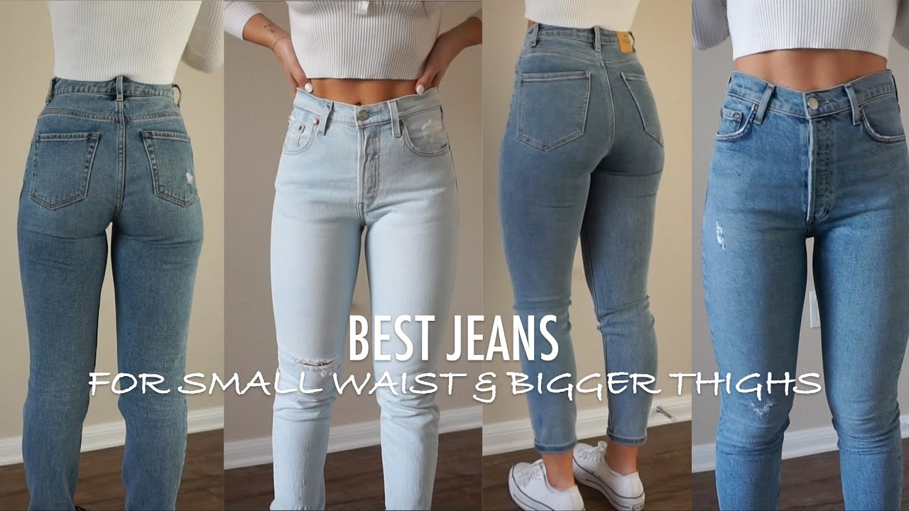 Updated Top 5 Favorite Jeans For Small Waist Bigger Thighs Youtube
