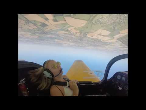 First Taste of Aerobatics in a Firefly T67 - Daisy Murfitt