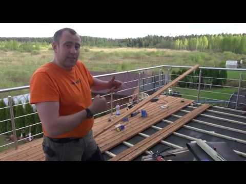 покрытие террасы импрегнированная доска от Владимира Волошина brigada1.lv  изготавливаем в латвии