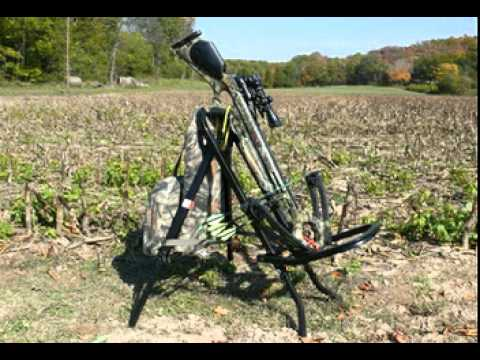 Predator Hunting Chair Blue Covers For Sale Sitting Hawk - Youtube