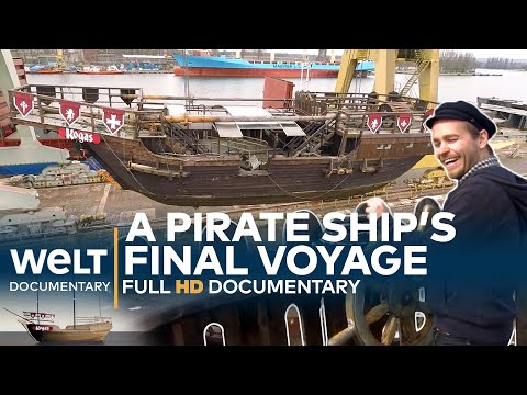 A Pirate Ship's Final Voyage - Heavy Transport Across The Water | Full Documentary