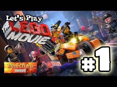 Let's Play The LEGO MOVIE VIDEO GAME! (Level 1) Gameplay with EvanTubeHD