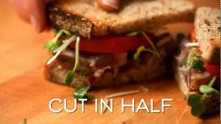 Grilled Ahi Tuna Sandwich With Tarragon Mayonnaise