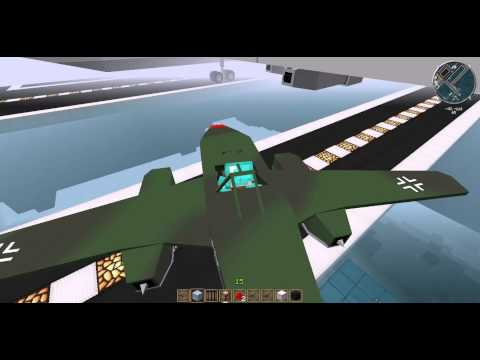 Minecraft Flans mod New Airport review