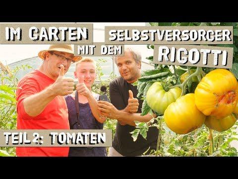 Im Garten mit Selbstversorger Rigotti - Teil 2 Tomaten und Kohl