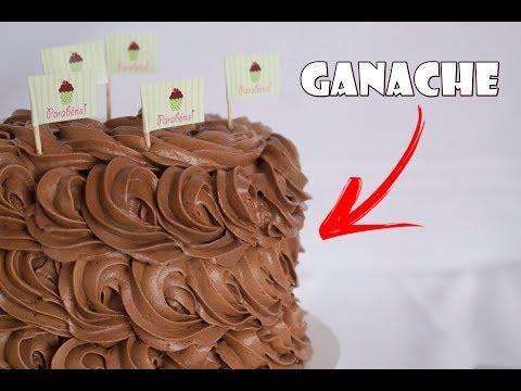 Como fazer  GANACHE para cobertura e recheio de bolos e doces.