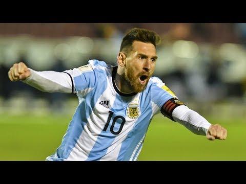 Leo Messi All Goals 2018 World Cup Qualifier