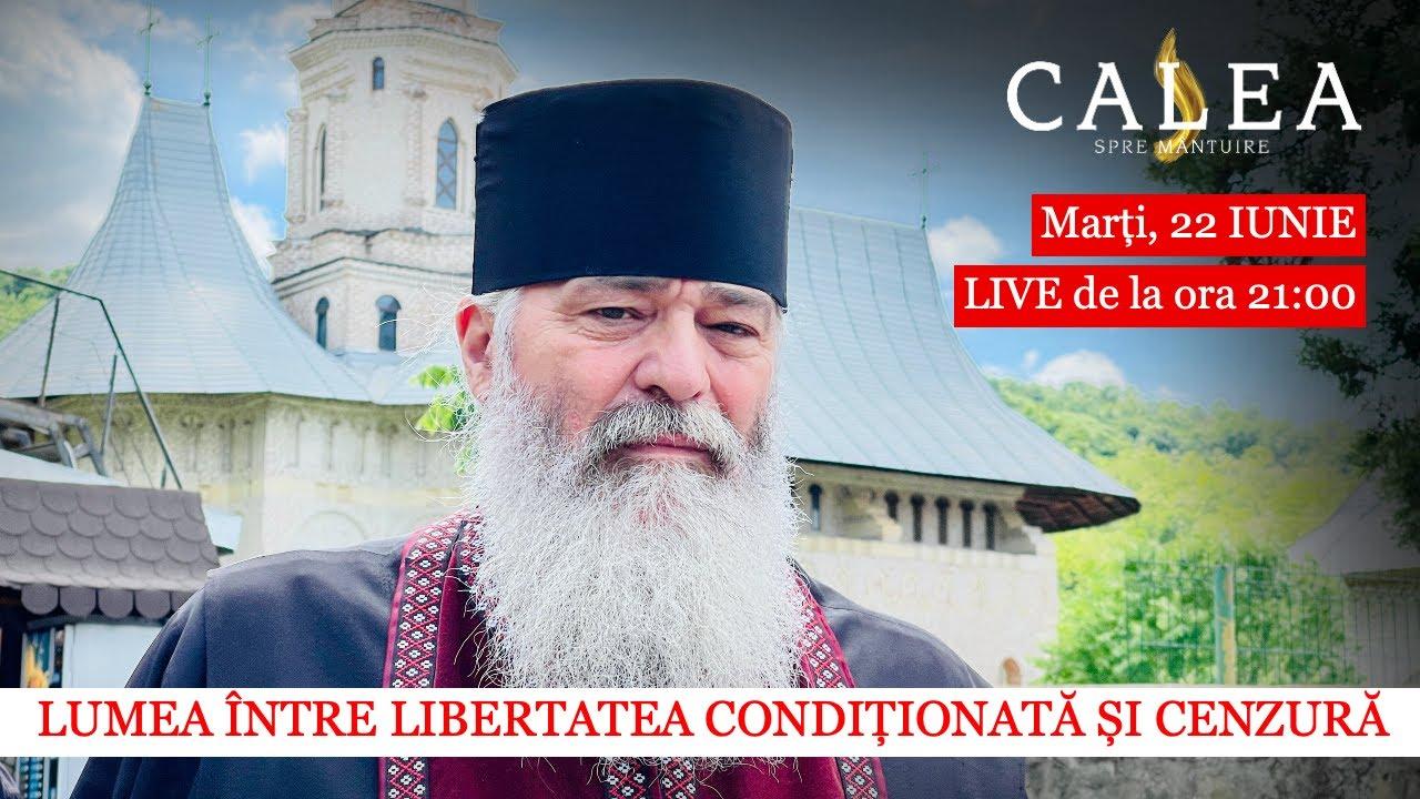 Download 🔴 LIVE CU PR. CALISTRAT - LUMEA ÎNTRE LIBERTATEA CONDIȚIONATĂ ȘI CENZURĂ