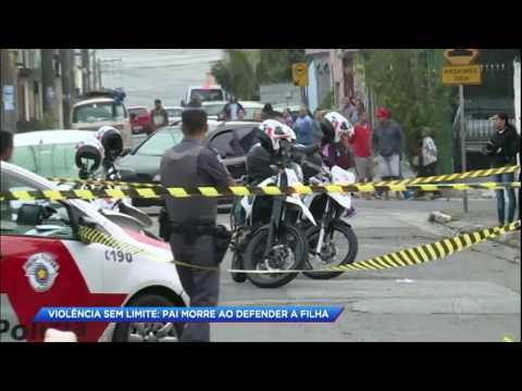 Pai é assassinado na frente da filha durante assalto em SP